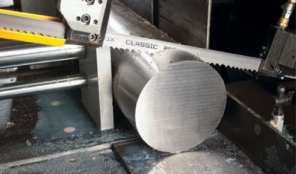Metal Saw Cutting Ingot of Steel